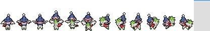 Create a Pokemon Sprite! Shayminrider