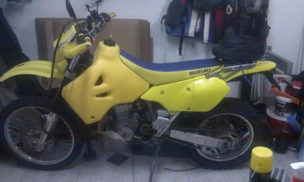 VENDO DRZ 400 E     --VENDIDA-- 2012-09-13213714