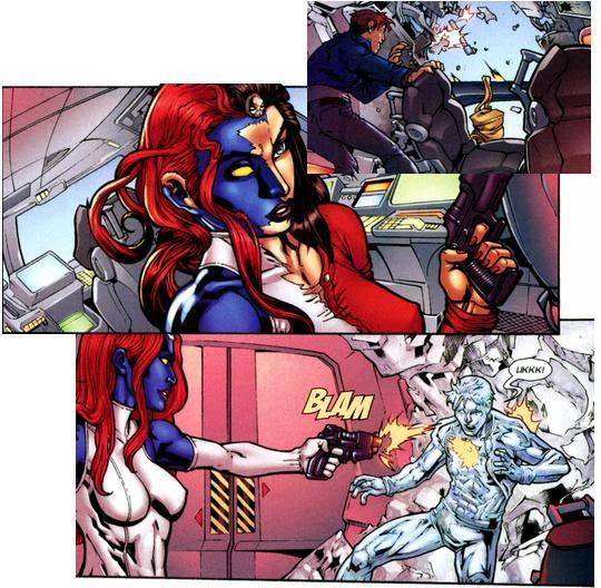 X-Men - Nº 100 (Abril/2010) Iceman03