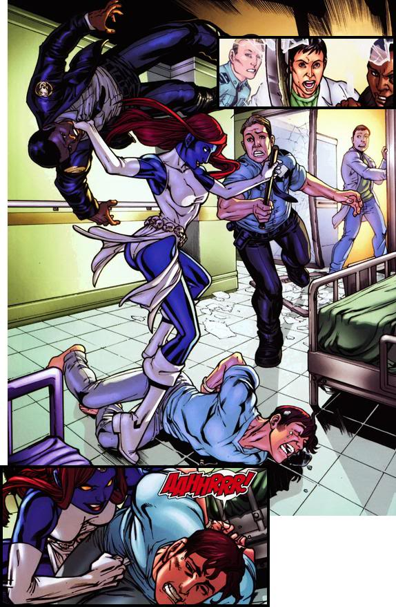 X-Men - Nº 100 (Abril/2010) Iceman06