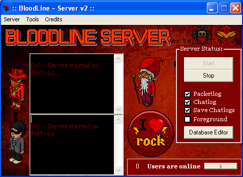 bloodline server v2
