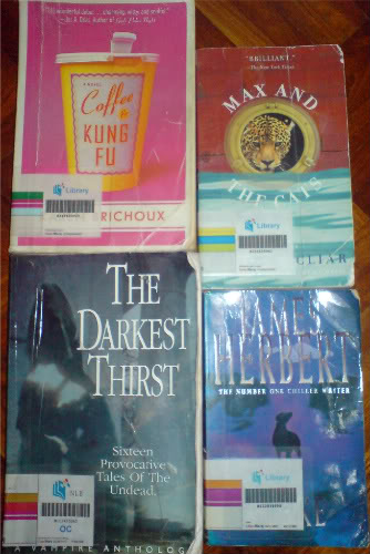 WTS: Various Novels + Writing Guidebook DSC01021