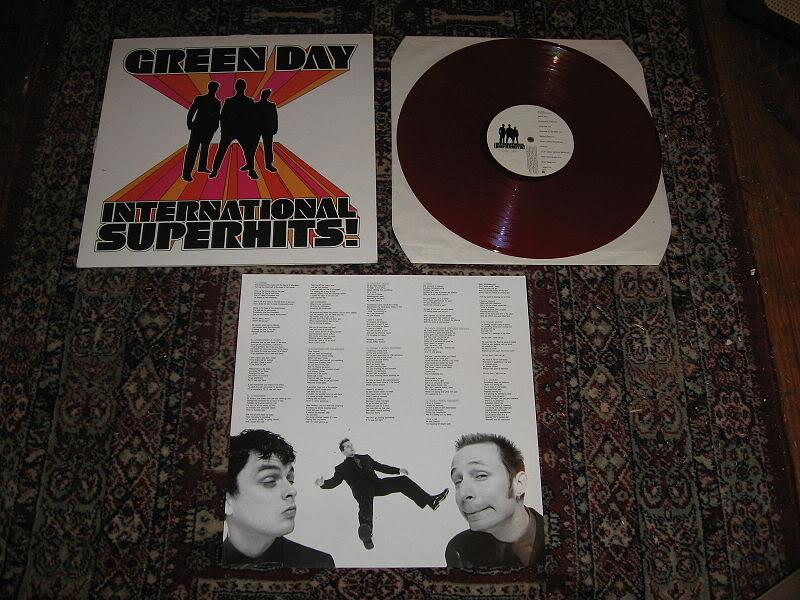 Green Day por supuesto! GreenDayInternationalsuperhitsvinyl