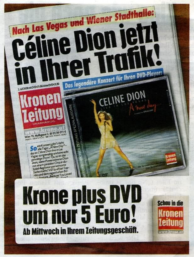 """Krone"" + ""A New Day..."" DVD KroneCover0001"