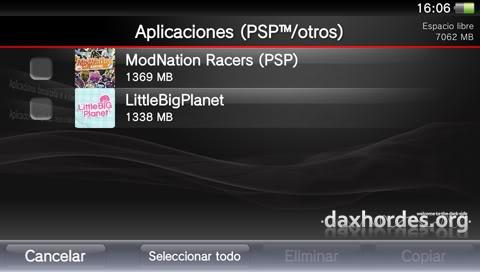 [Tutorial] Transferir juegos de PSP/Vita desde PS3 a PS Vita 7