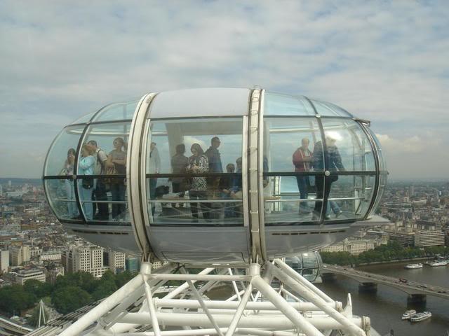 Onboard London Eye