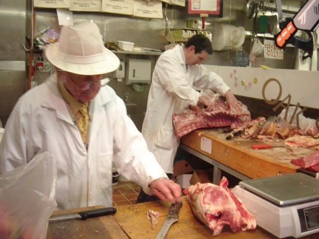 Butchery in Covered Market