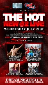 Far*East Movement Meet and Greet Dinner JULY 21 - 6:30PM Flyer_TheHotNew2Live-171x300
