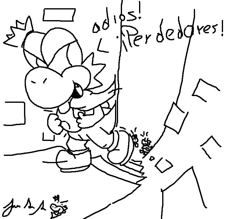 Las Aventuras de Yoshi - Página 2 Dibujo-15