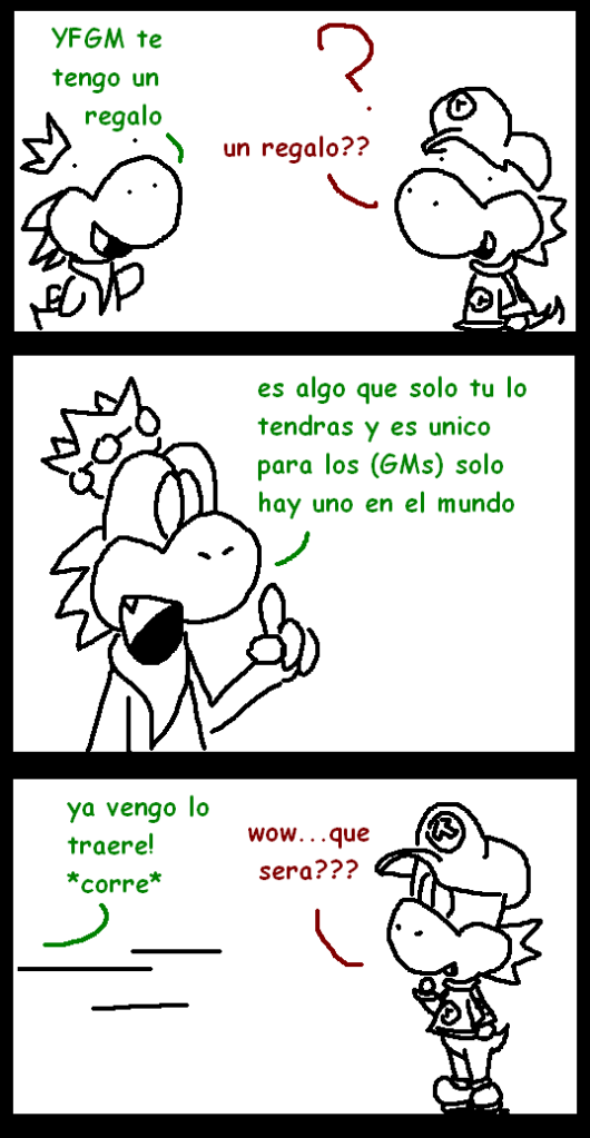 Mr.Yoshi comics =3 - Página 3 Bola1