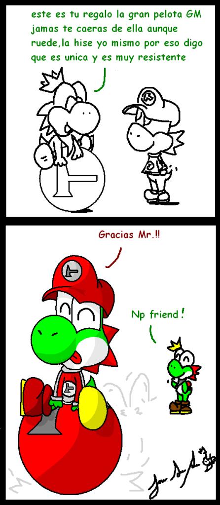 Mr.Yoshi comics =3 - Página 3 Bola4