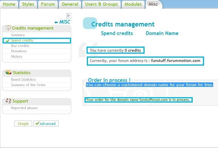 I'm really worried.. domain name problem Creditsmanagement