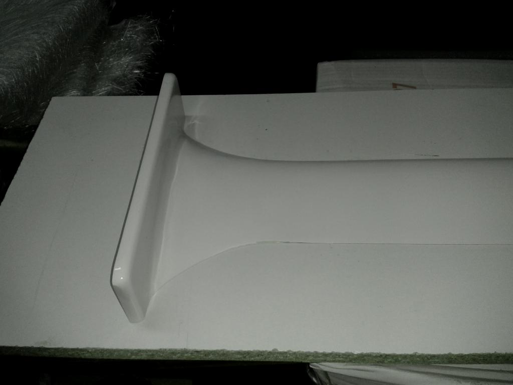 HYDROFOIL fiberglass mold construction 04