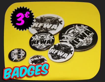Magasin KFWA ! Badge