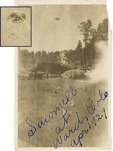 OVNIS galeria. April1929-WardColoradoUSA