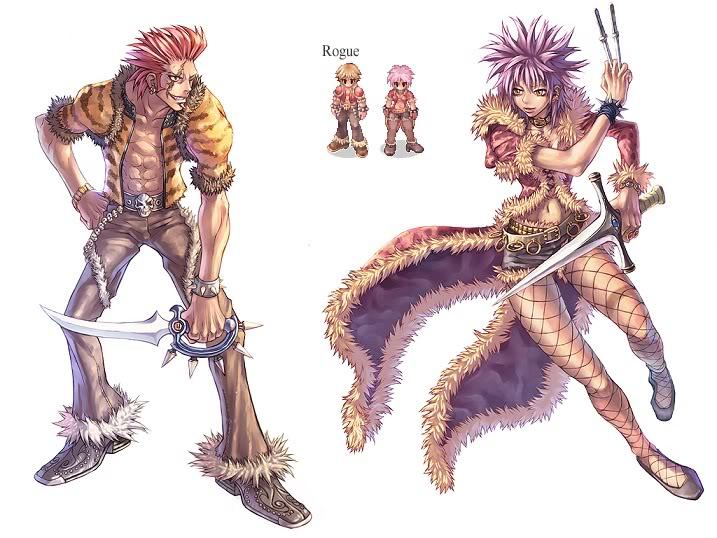 COSPLAY GRUPAL RAGNAROK ONLINE Character_Rogue