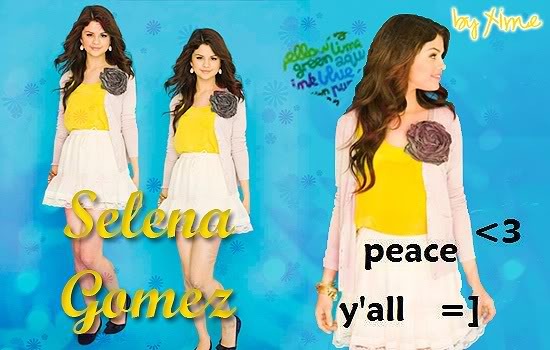 ¡Clases de Photoshop by XimeNICKa! FinalSelena