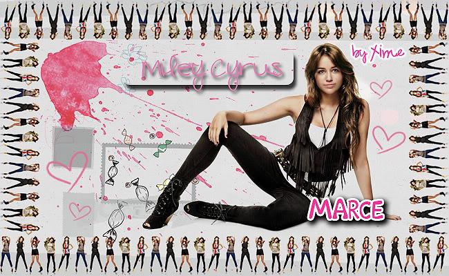 ♥♪ Editaciones XimeNICKa ♪♥ MileyCyrusMarce