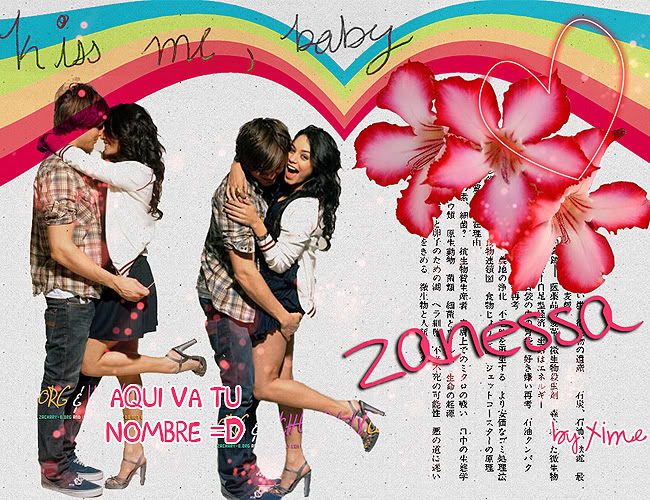 ♥♪ Editaciones XimeNICKa ♪♥ Zanessa