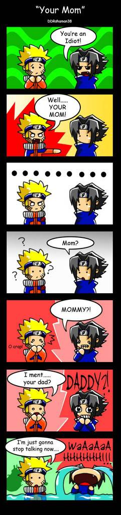 funny spam  - Page 3 Your_Mom__naruto_comic__by_DDRshama