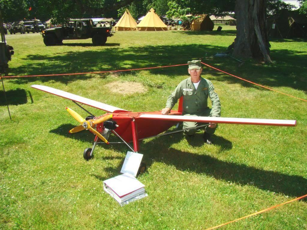 WW2 Radio Contolled Target Drone OQ-2A 1943 DSC07536