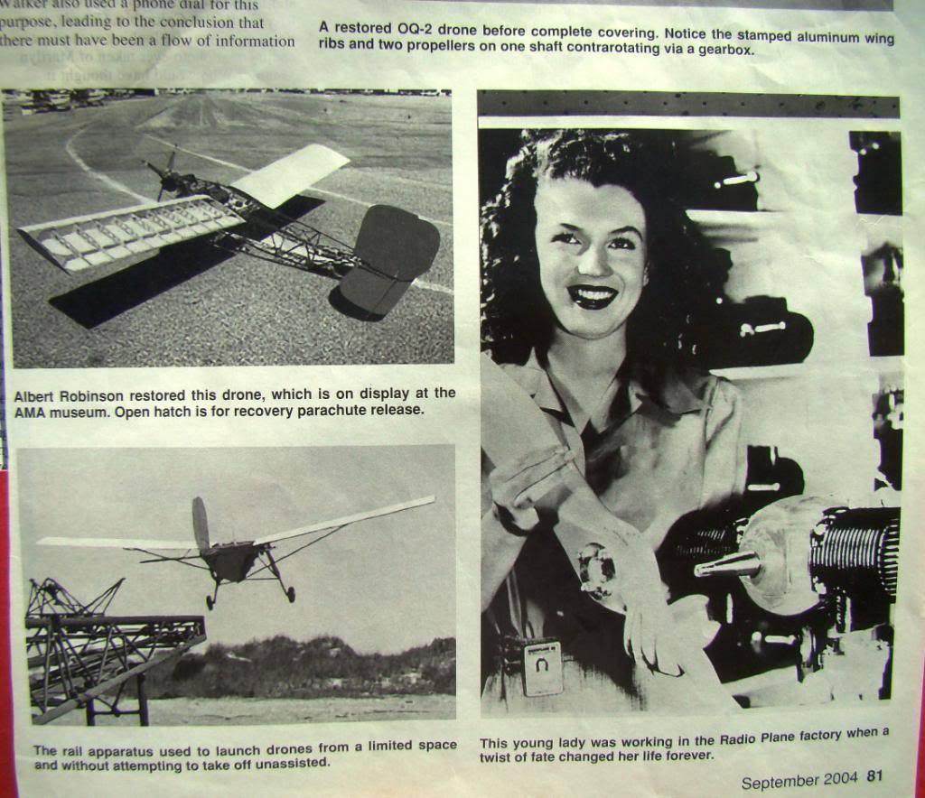 WW2 Radio Contolled Target Drone OQ-2A 1943 DSC07537
