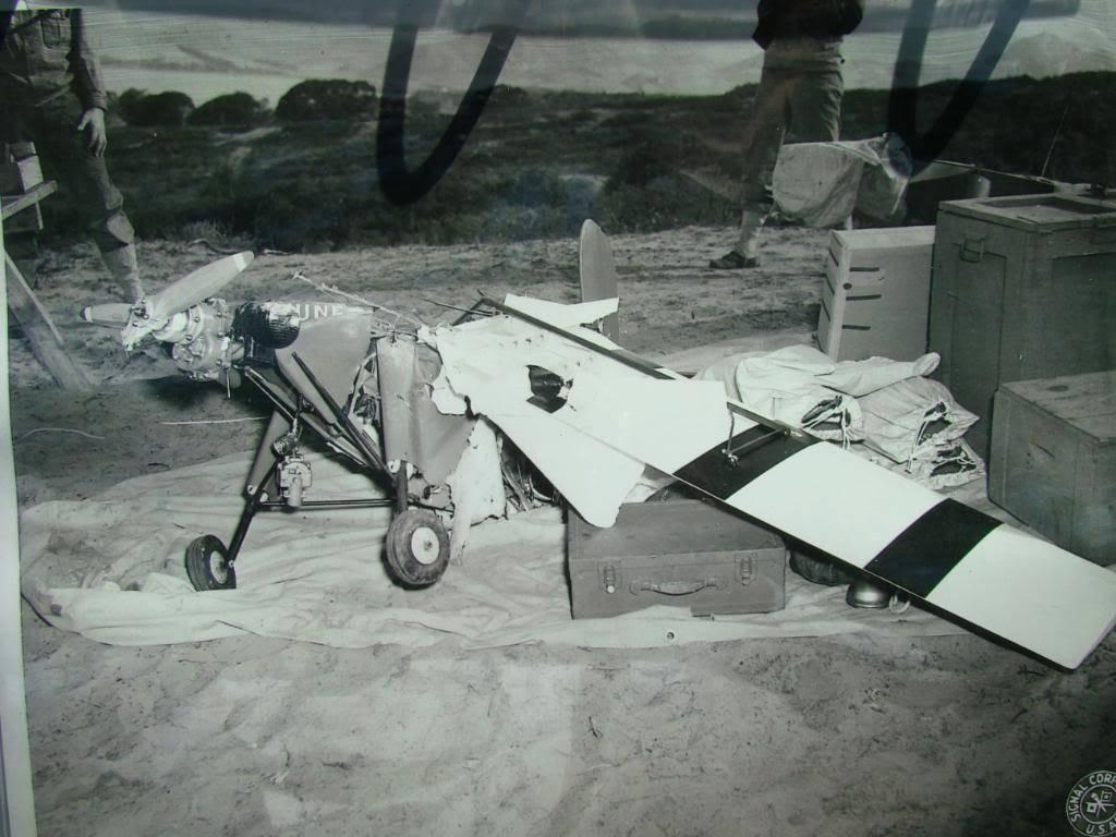 WW2 Radio Contolled Target Drone OQ-2A 1943 DSC07552