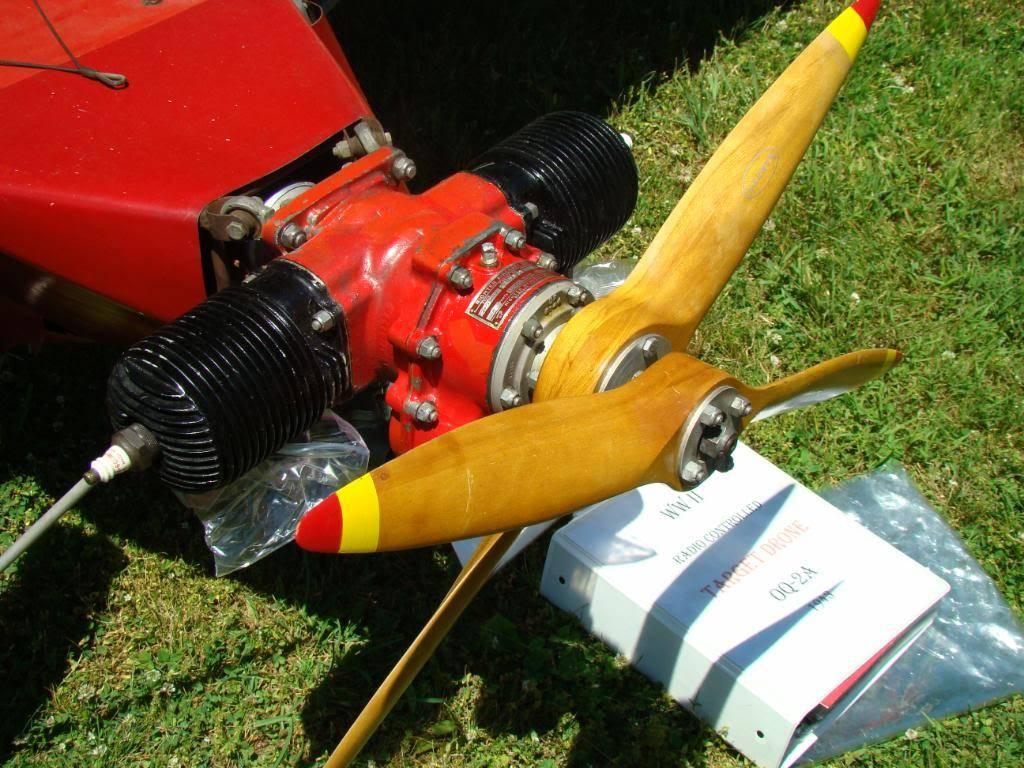 WW2 Radio Contolled Target Drone OQ-2A 1943 DSC07557