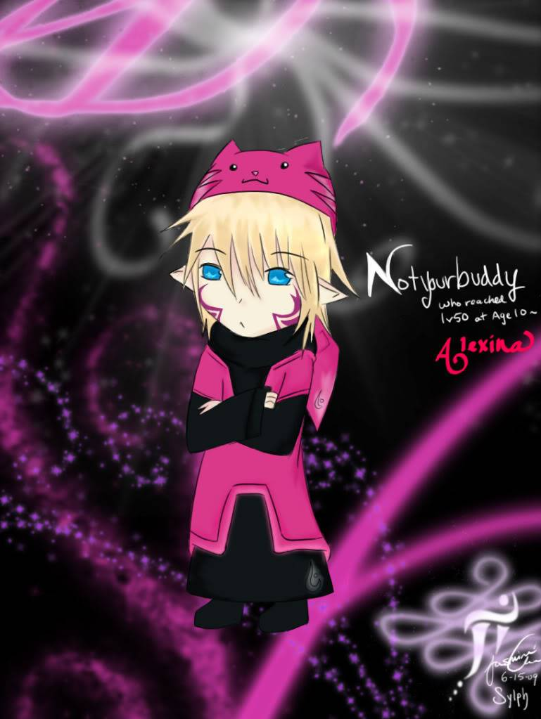 Sylph's OLD Art? Itsbudddy