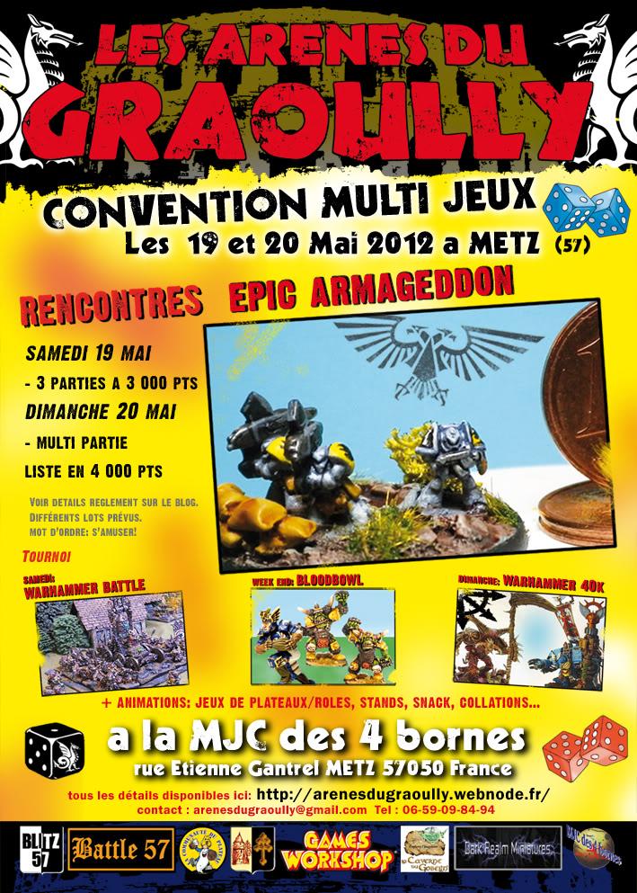 Convention Epic 19 et 20 mai 2012: Arenes du Graoully à Metz FlyerEpicGraoullynet