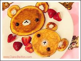 Nice Food 11-bearpancakes
