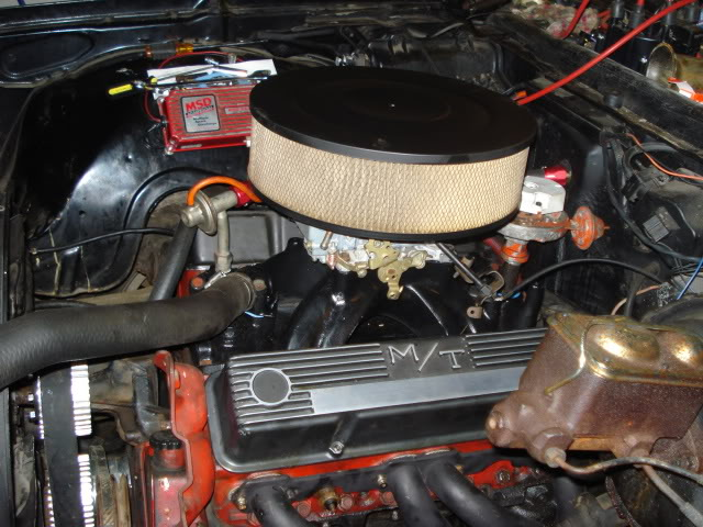 Chevelle 540 going on dyno tomorrow.  Take a guess for power Adfd3be6