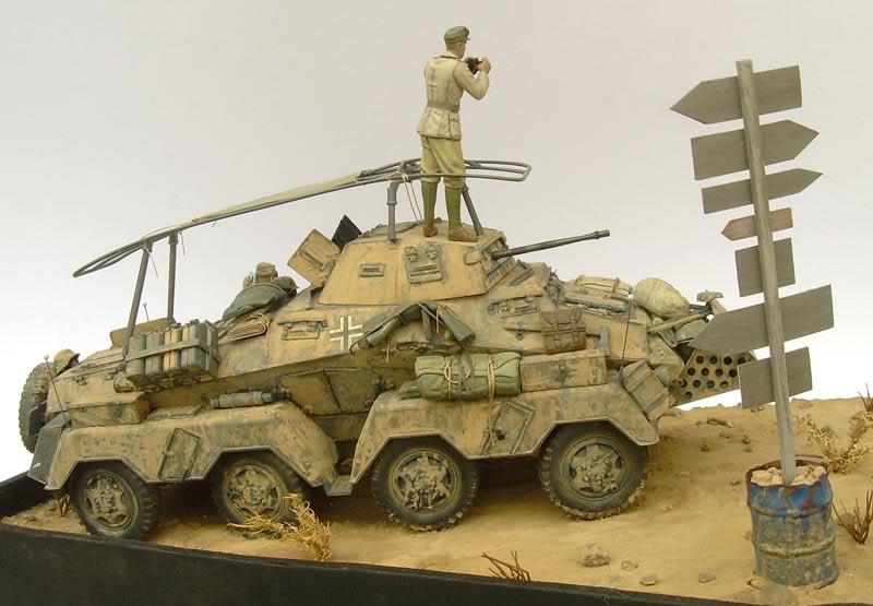 Sd.Kfz. 232 (8rad) - Libia, 1942 DSCN6741b