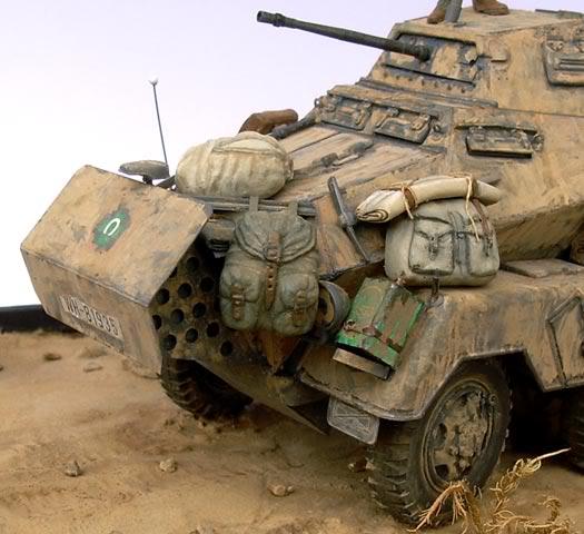 Sd.Kfz. 232 (8rad) - Libia, 1942 DSCN6746b