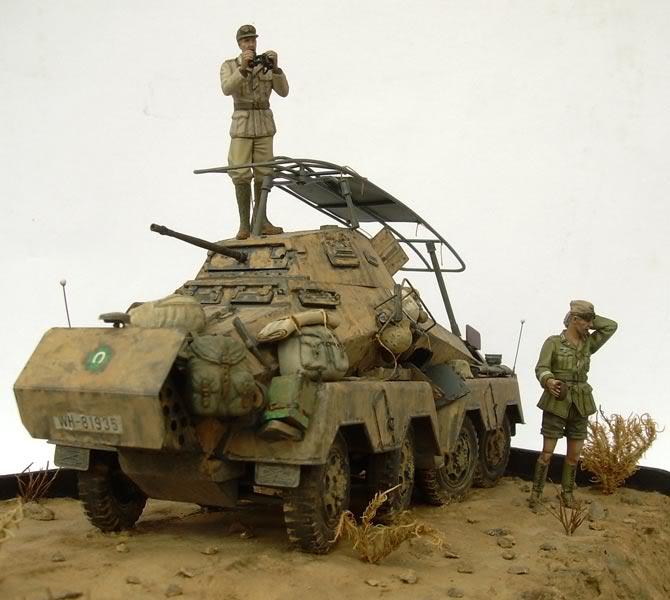 Sd.Kfz. 232 (8rad) - Libia, 1942 DSCN6750b