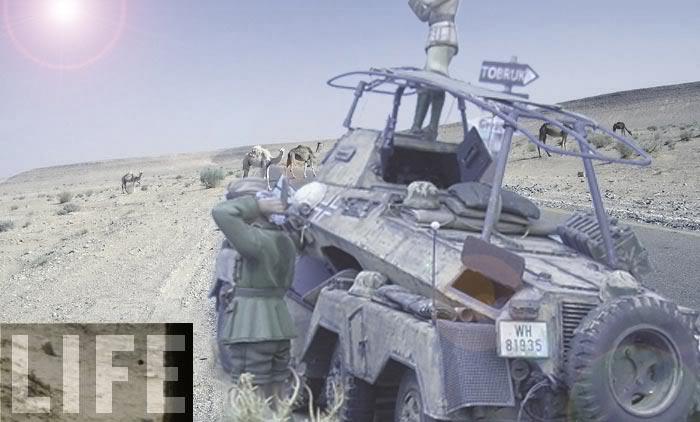 Sd.Kfz. 232 (8rad) - Libia, 1942 Libia03colorLIFE