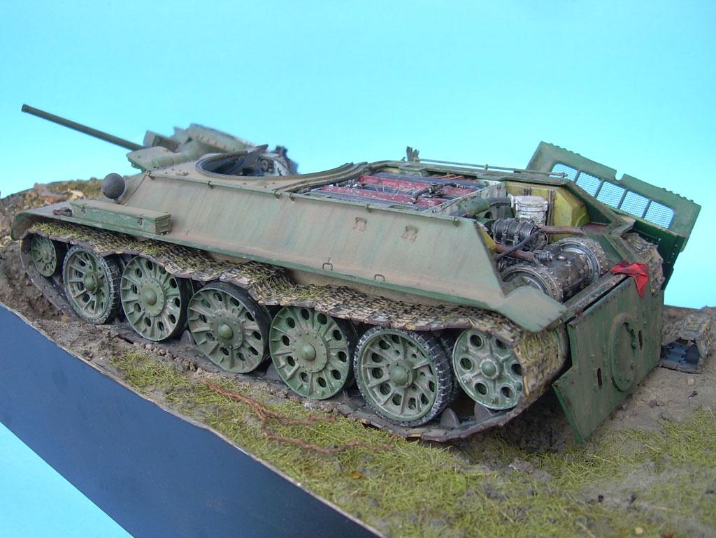 T-34/76 kaputt Gal032021