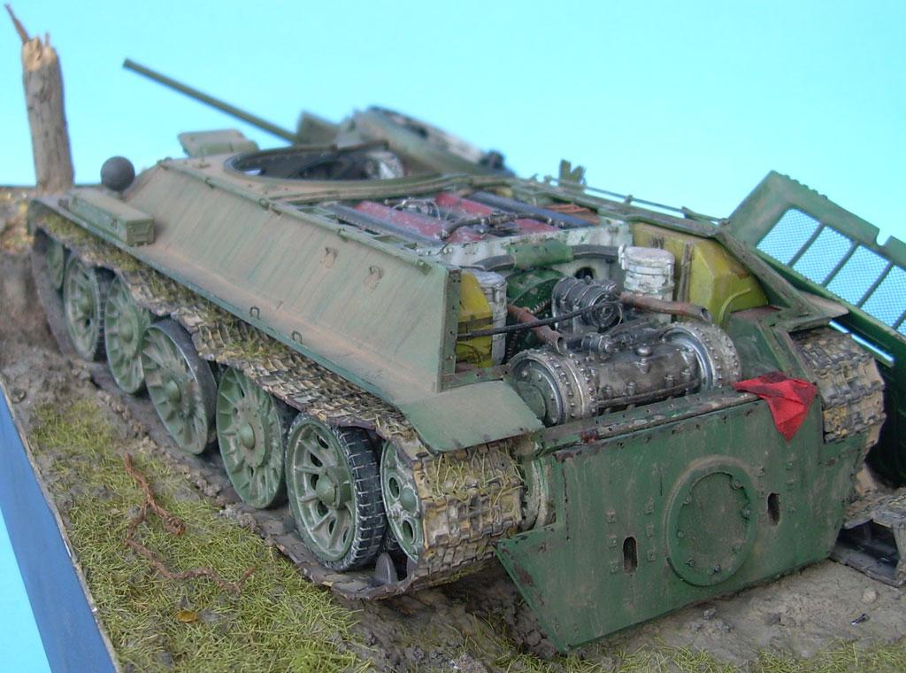 T-34/76 kaputt Gal042020