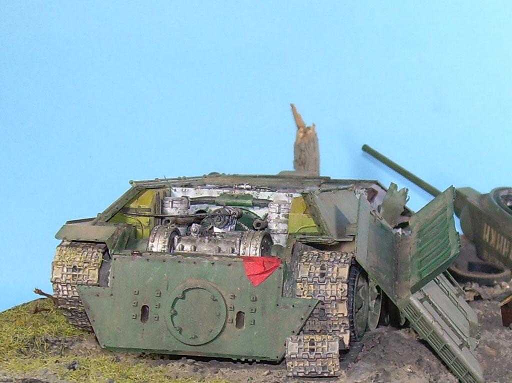 T-34/76 kaputt Gal052006