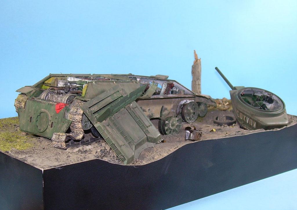 T-34/76 kaputt Gal062007