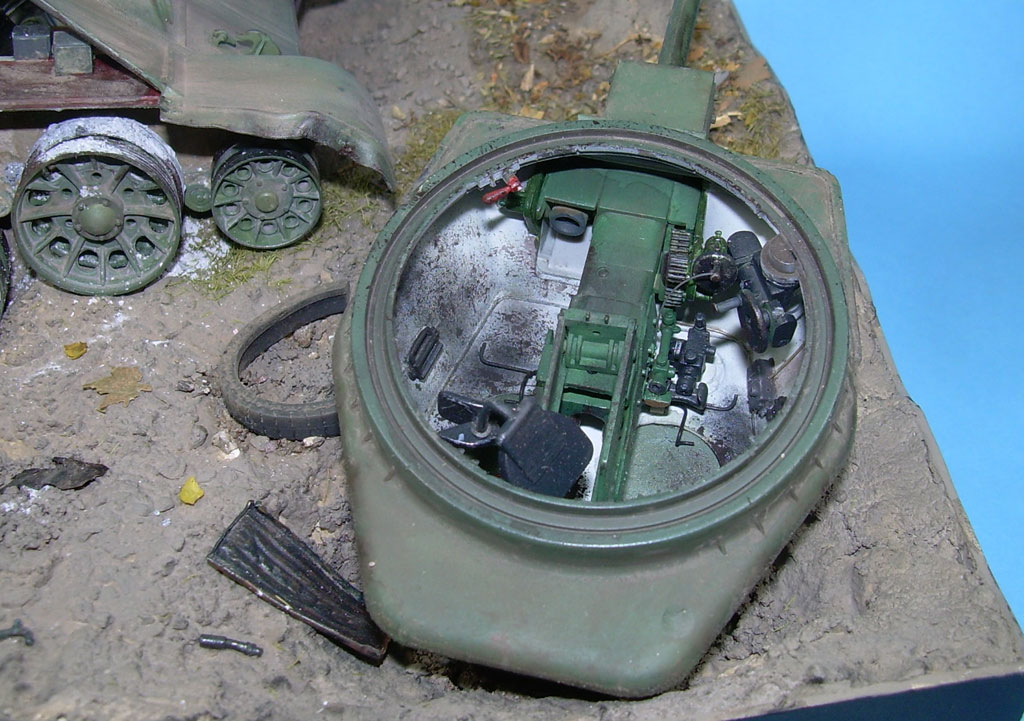 T-34/76 kaputt Gal071978