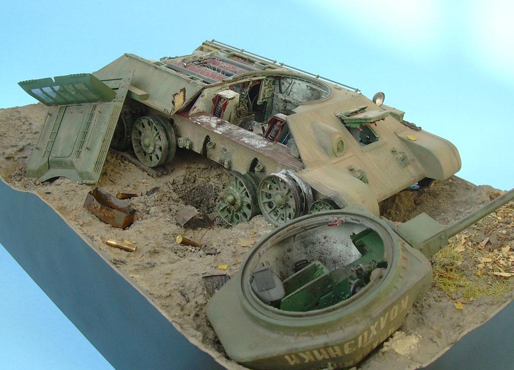 T-34/76 kaputt Gal082025