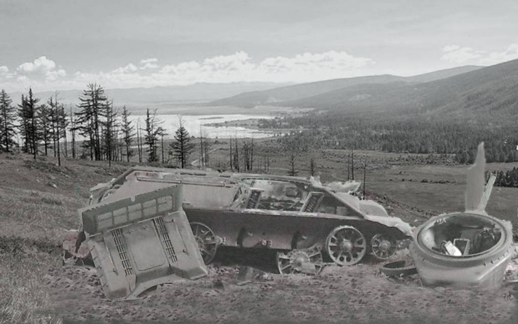 T-34/76 kaputt Gal10