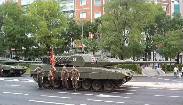 Fuerzas Armadas de España Leo2A6E-3