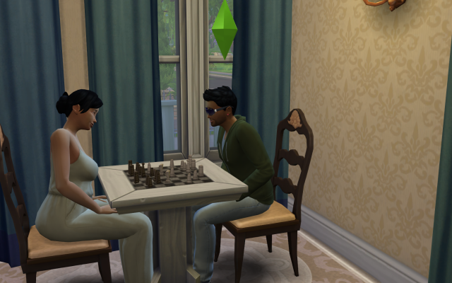 Playing  Sims 4 by Gramcrackers - Page 3 Lee9Adrielplayschesswithaneighbor_zpsa63e3664