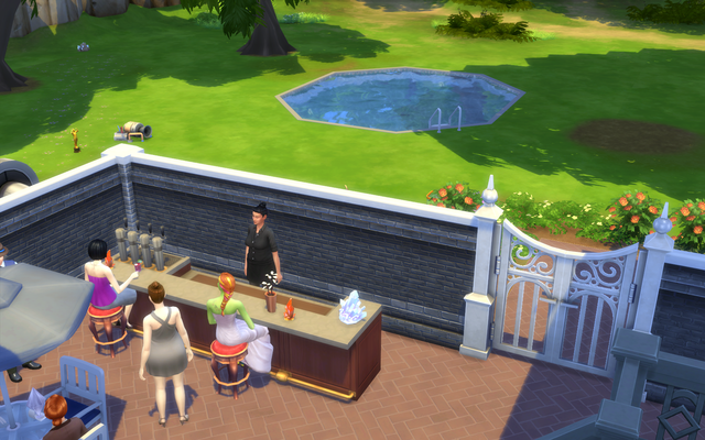 Playing  Sims 4 by Gramcrackers - Page 4 Olie52%20Wedding%20guests%20amp%20Spade%20mingle_zpsctgrjdor
