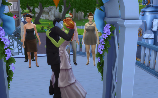 Playing  Sims 4 by Gramcrackers - Page 4 Olie59%20Kiss%20the%20Bride_zpsll91zq3s