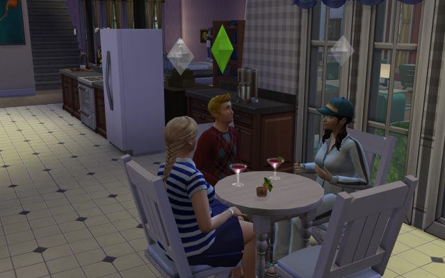 Playing  Sims 4 by Gramcrackers SandyB12roomiesrelaxampchat_zps00840967
