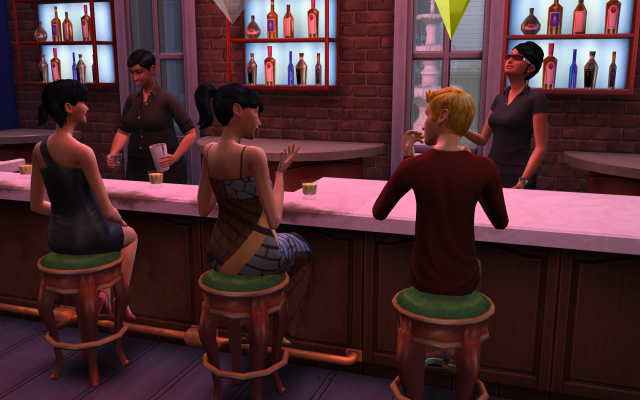 Playing  Sims 4 by Gramcrackers SandyB21TravisondateElsie_zps7328b0d7