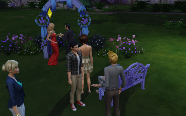 Playing  Sims 4 by Gramcrackers SandyB23wedding_zps9572dc2b